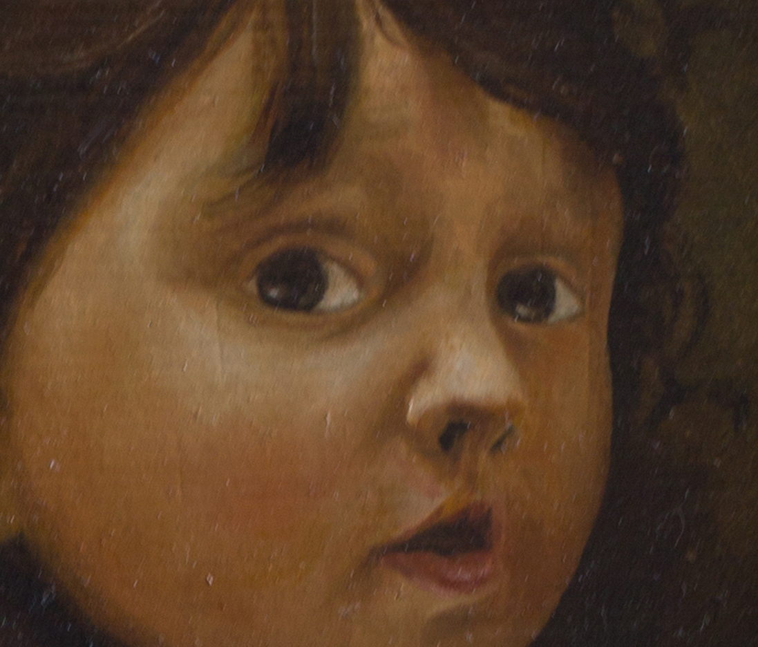 Oil painting portrait study EMA