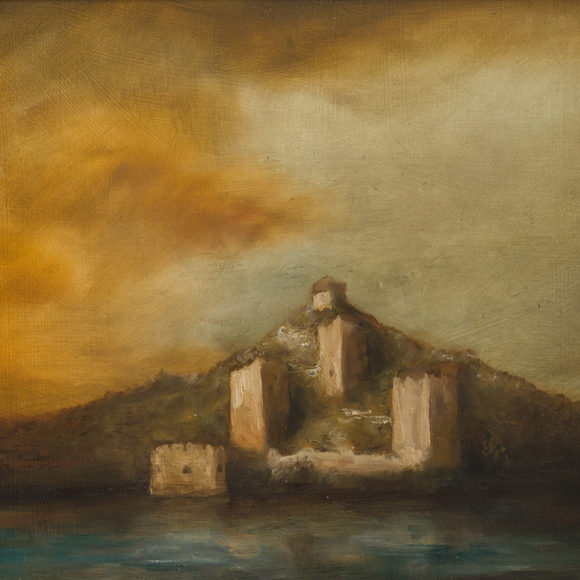 Golubac fortress landscape